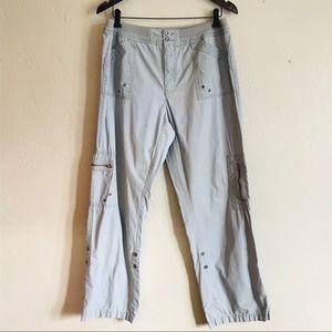 Tradition Grey Adjustable Cargo Utility Pants
